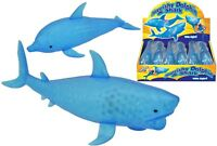 Light Up Squishy Shark/Dolphine Tactile Toy Stress Ball for Kids Autism Special
