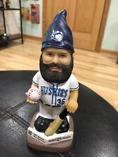 "Duluth Huskies 7.5"" Gnome Hat Bobblehead Minnesota North Woods League Baseball"