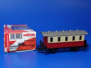 MARKLIN H0 - 4107 - LOCAL PASSENGER COACH - BOX // LN