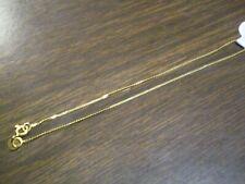 14K Yellow Gold Ladies S-Link Bracelet      0.4 grams
