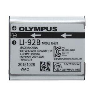 Original Olympus LI-92B Battery For SP-720 SP-800 SZ-15 SZ-16 SZ-1 DZ-105 U-8010