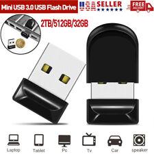 2TB 512GB USB 3.0 Flash Drive Mini Thumb U Disk Memory Stick Pen Drive PC Laptop