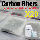 20PCS Water Distiller Activated Carbon Filters Packs Bags Removing Compound Pure