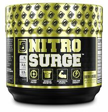 NITROSURGE PRE WORKOUT THERMOGENIC FAT BURNER + NITRIC OXIDE ENERGY POWDER  jl
