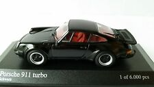 1:43 Minichamps Porsche 911 930 Turbo 1977 black lim. ed.  OVP / MIB