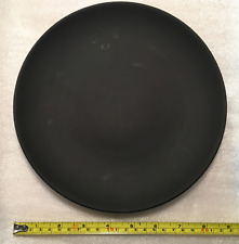 "New ListingWedgwood Basalt Black Coupe Dinner Plate 8 7/8""- Wanamaker collectors"