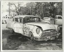 1954 BUICK Century 4 door sedan Auto Accident 3 orig 8x10 Photos; California Car