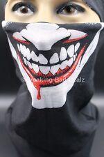 Counter Strike Cosplay Balaclava Logan Face Mask Hood Biker joker smile Tube