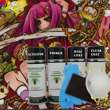 Hydrographic Film Water Transfer Hydro Dip Activator Paint Kit Wondering Girl