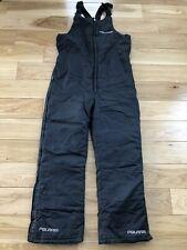 Polaris Winter Ski/Snowmobile SZ M Black Snow Suit Bib Pants Mens Style 47253