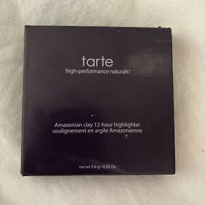Tarte Amazonian Clay 12-Hour Highlighter Full Size 5.6g In Shade Stunner