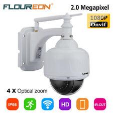 4x ZOOM HD 1080P PTZ Dome IP Kamera Outdoor CCTV WLAN&Wifi IR Nachtsicht SD SLOT