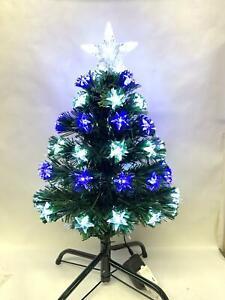 2' Ft 0.6M Table Top Fiber Optic Star Tip Christmas Tree