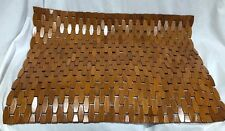 Bamboo Wood Non Slip Bath Mat Safety Anti Skid Shower Protection Oiled Finish ;