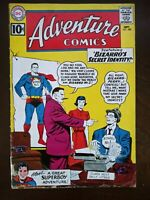 Adventure Comics 288 (1961) Bizarro's Secret Identity! Superboy story added!