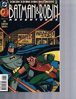 Batman & Robin Adventures #1 Harley Quinn Appearance DC Comics 1996