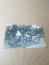 More details for old rp postcard. early motor vehicle and passengers.tooting london?   l/4252