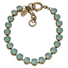 CATHERINE POPESCO La Vie Parisienne PACIFIC BLUE Tennis Swarovski Bracelet