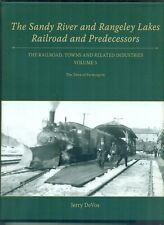 NEW Sandy River & Rangeley Lakes RR and Predecessors Vol 5 Farmington