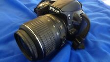 Nikon d3000 + objectif 18-55 mm 3.5-5.6g Vr AF-S Reflex Caméra >>