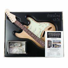 More details for wilkinson - 60's slab board 's-style' guitar kit, build your own guitar! diy gui