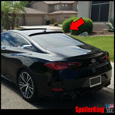 (284R) Rear Roof Spoiler Window Wing (Fits: Infiniti Q60 2016-on 2d) SpoilerKing