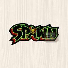 Spawn Word Logo Patch Anti Super Hero Comic Clown Todd McFarlane Embroidered