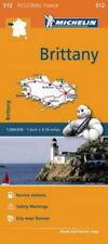 Michelin Map 512 Brittany France Regional