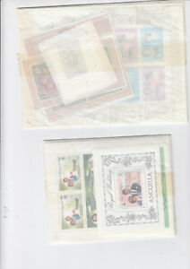 ROYAL WEDDING 1981 - Stanley Gibbons MU01-33 complete in orginal packets - MNH