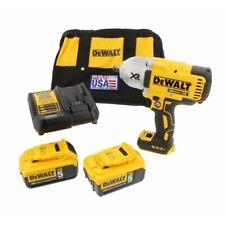 DEWALT 20V MAX XR Brushless 1/2-Inch Impact Wrench Hog Ring Anvil Kit DCF899HP2