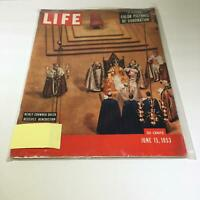 Life Magazine:6/15/53 Newly Crowned Queen Receives Benediction, Coronation