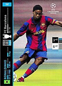 PANINI Champions League 2007/08 - Ronaldinho - Nr. 197 - FC Barcelona