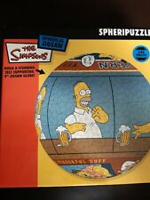 THE SIMPSONS - 240 PIECE PUZZLEBALL JIGSAW PUZZLE - SPHERIPUZZLE - COMPLETE