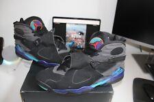 Nike Air Jordan 8 Retro Aqua 2015 Men's Size 13 305381-025