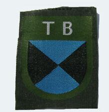 German WW2 Terek Cosack woven sleeve shield.