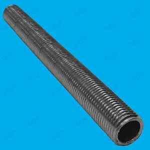 7x M10 300 mm x 10 mm allthread creux tige filetée Tube électrique Lampe Socket
