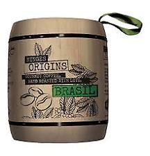 Minges Origins Brasil. 6 x 250g ganze Bohne im Holzfass. Deutsche Ware m. Spende