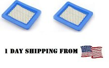 2x Air Filter Briggs & Stratton 491588, 491588S,5043D,5043 ,399959,12941,30-710