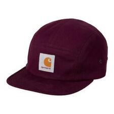 Carhartt Wip Backley 5 Panel Watch Hat Merlot Red Black Cap Supreme Streetwear