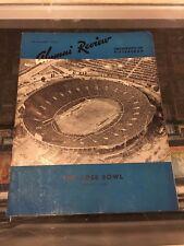 1/1 1937 ROSE BOWL PITT 21 WASHINGTON 0 ALUMNI REVIEW MAGAZINE UNDEFEATED SEASON