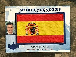 Pedro Sanchez Decision 2020 SERIES 2 World Leaders #WL94 BLUE 1/5 - Spain