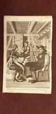 Entlebuch Vestiario per la Cresima Svizzera Acquaforte del 1830 Giulio Ferrario