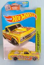 3037 HOT WHEELS / CARTE US / HW WORKSHOP 2013 / CHEVY C10 1967 1/64