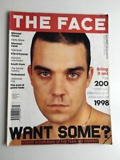 THE FACE MAGAZINE VOL.3 #24 JANUARY 1999 ROBBIE WILLIAMS COVER
