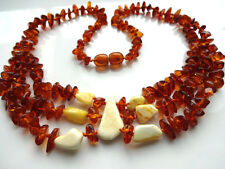 Natural Baltic Amber Necklace.