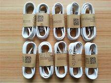 100pcs Lot White Micro USB Charger Cable for Samsung Galaxy S4 S3 note2 HTC