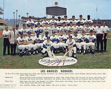 1965 LOS ANGELES LA DODGERS WORLD SERIES CHAMPS 8X10 TEAM PHOTO KOUFAX DRYSDALE