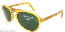 Authentic RALPH LAUREN PURPLE LABEL Folding Sunglass PL 9757 - 500552 *NEW* 52mm