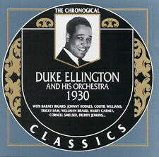 1930 by Duke Ellington & His Orchestra-CLASSICS CD NEW