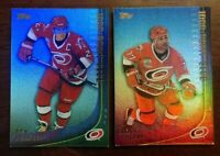 2000-01 Topps 1000 Point Club LOT OF 2 1000PC-3 1000PC-4 RON FRANCIS PAUL COFFEY